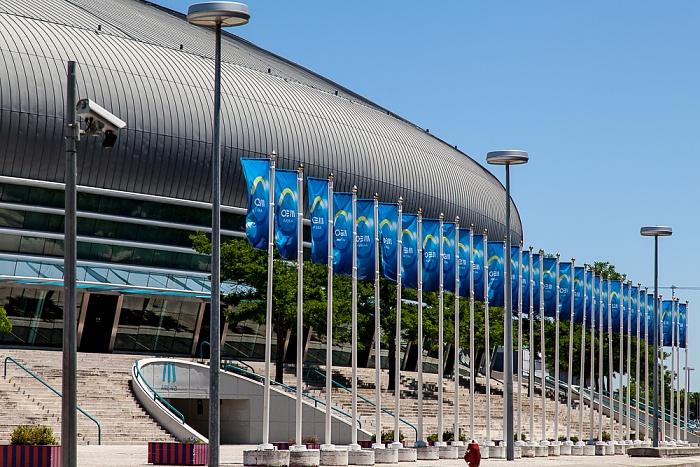 Parque das Nações: MEO Arena (ehem. Pavilhão Atlantico) Lissabon