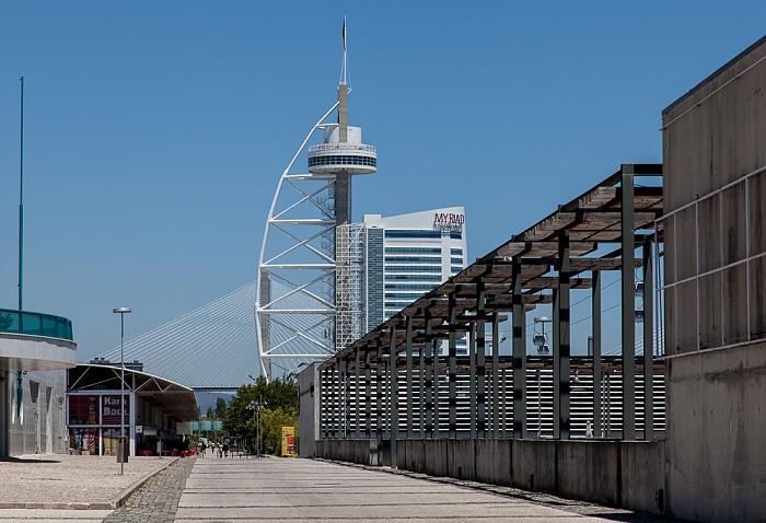 Parque das Nações: Torre Vasco da Gama Lissabon