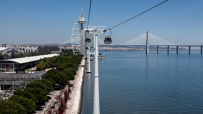Parque das Nações: Blick aus der Teleférico da Expo Lissabon 2013
