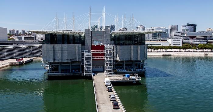 Parque das Nações: Blick aus der Teleférico da Expo - Oceanário de Lisboa Lissabon