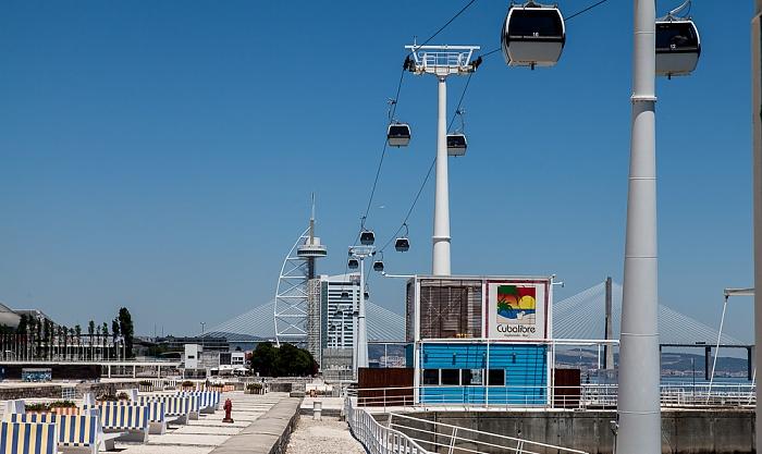 Parque das Nações: Teleférico da Expo Lissabon