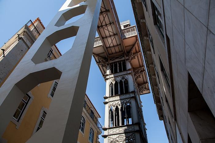 Lissabon Baixa: Elevador de Santa Justa