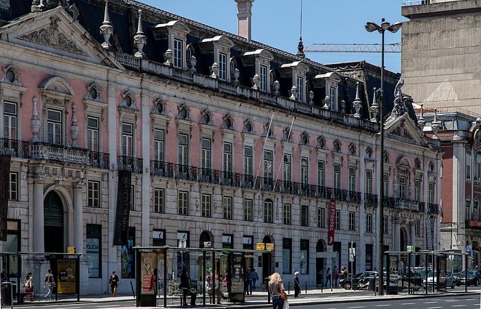 Baixa: Praça dos Restauradores - Palácio Foz Lissabon