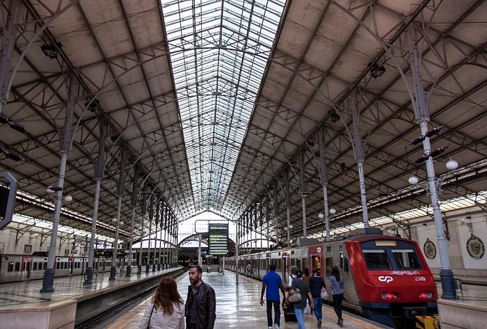 Baixa: Estação Ferroviária do Rossio Lissabon 2013