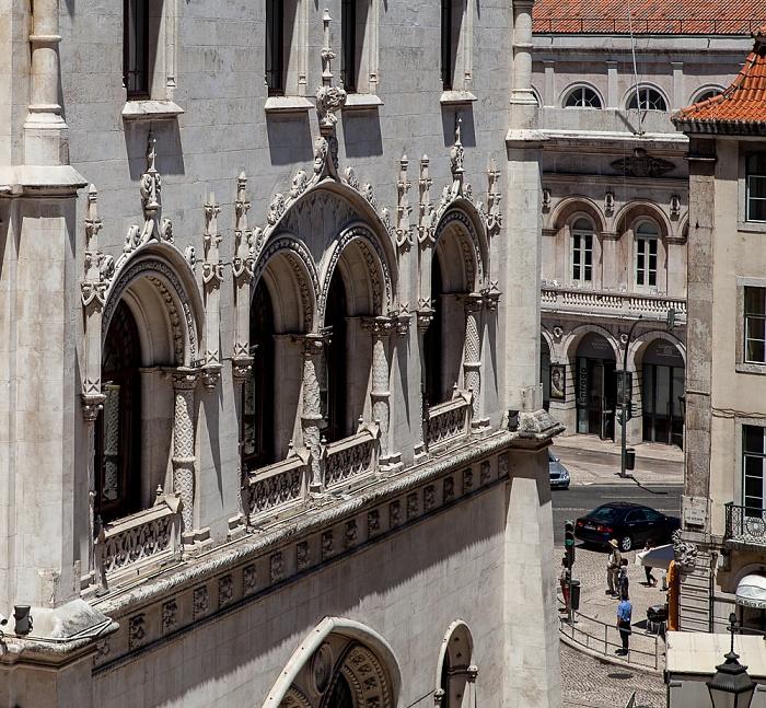 Baixa: Estação Ferroviária do Rossio Lissabon