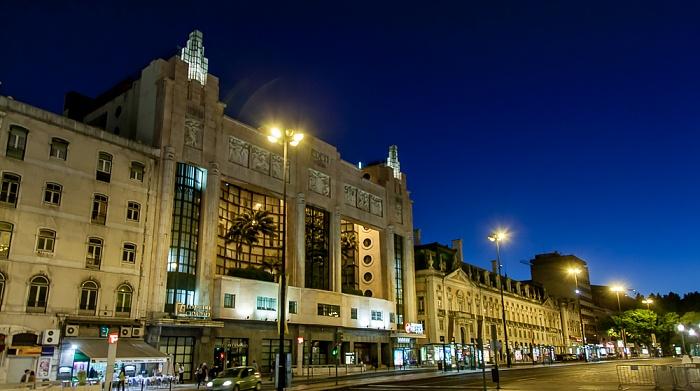 Baixa: Praça dos Restauradores - Ehem. Teatro Éden und Palácio Foz Lissabon