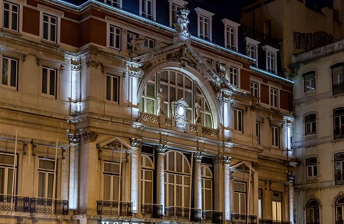 Baixa: Praça dos Restauradores - Hotel Avenida Palace Lissabon