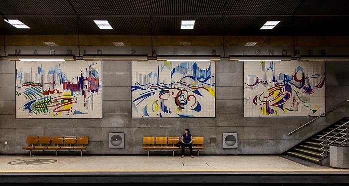 Baixa: Estação Restauradores Lissabon