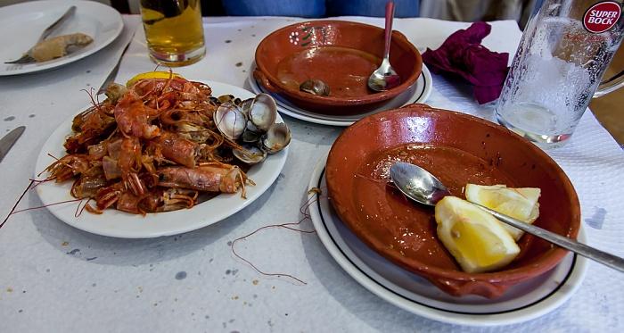 Baixa: Restaurante da Calçada (Santa Justa) - Ehem. Gambas und Muscheln Lissabon