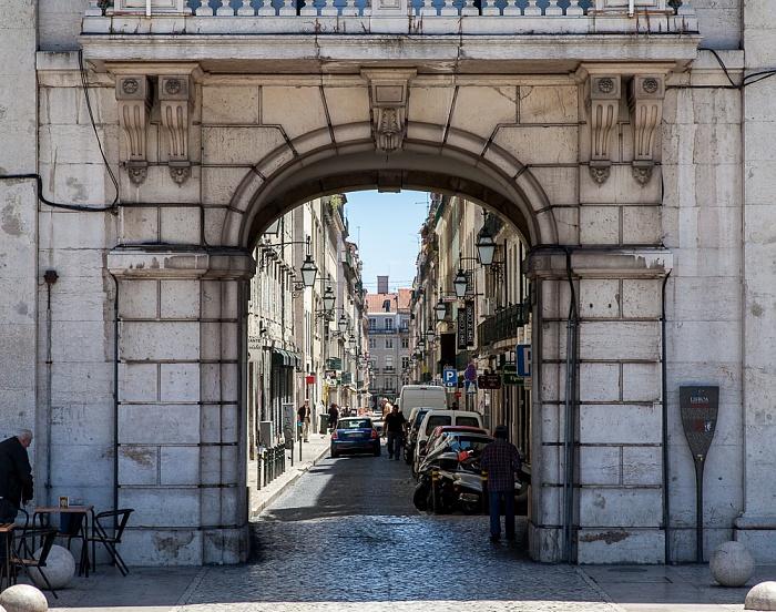 Baixa: Rua dos Sapateiros Lissabon