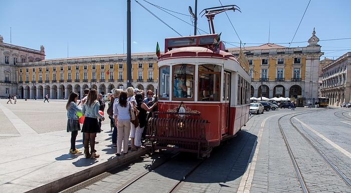 Baixa: Praça do Comércio - Eléctrico Lissabon