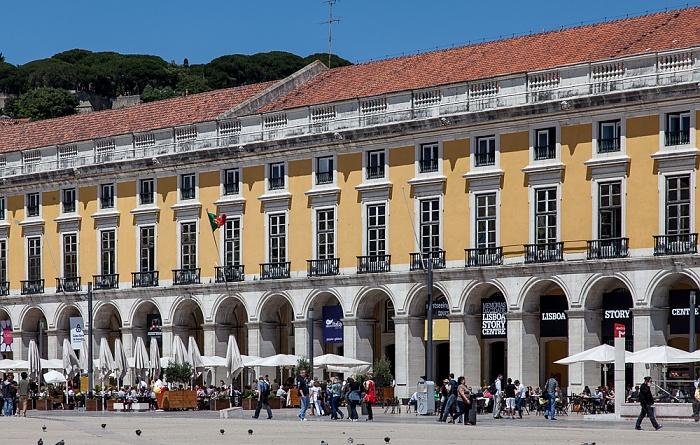 Baixa: Praça do Comércio Lissabon