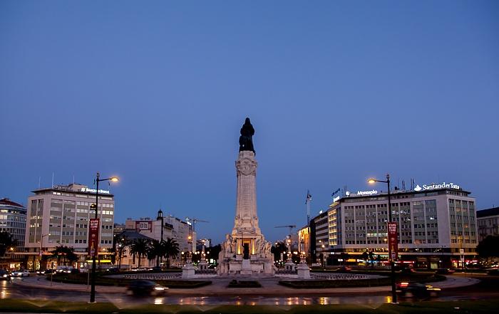 Praça Marquês de Pombal: Statue des Marquês de Pombal Lissabon