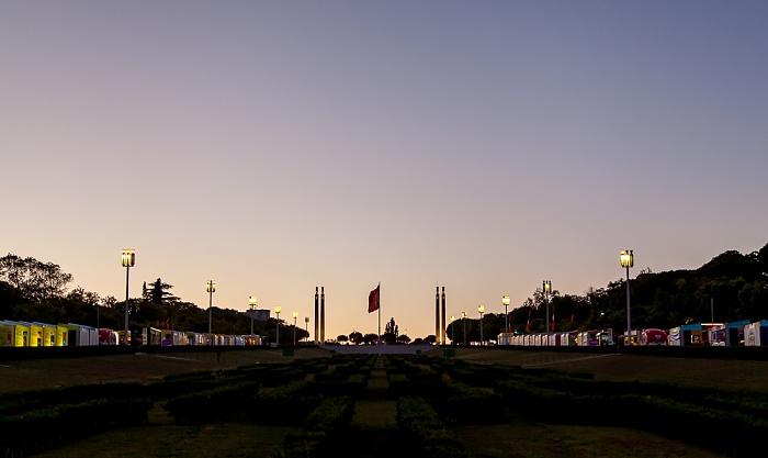 Parque Eduardo VII und Gedenkstätte für den 25 de Abril Lissabon