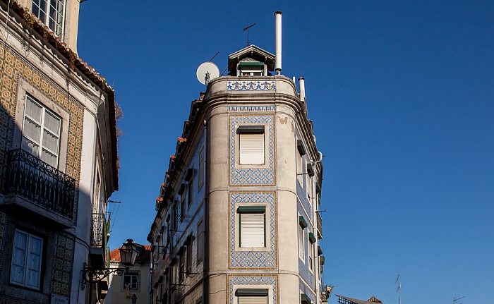 Alfama: Calçada da Graça Lissabon