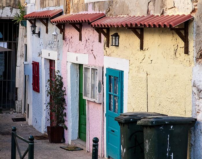 Alfama: Rua Limoeiro Lissabon