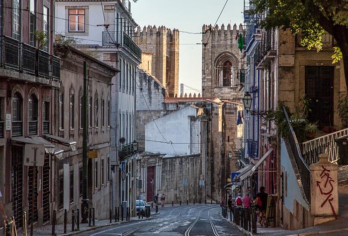 Alfama: Rua Augusto Rosa Lissabon