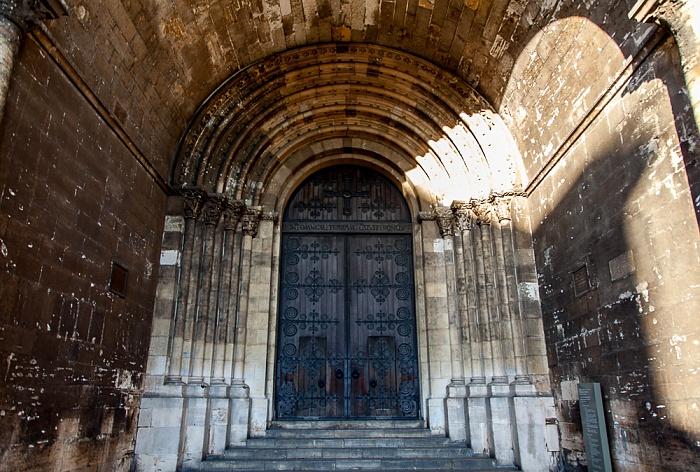 Lissabon Catedral Sé Patriarcal (Igreja de Santa Maria Maior): Hauptportal Se Patriarcal