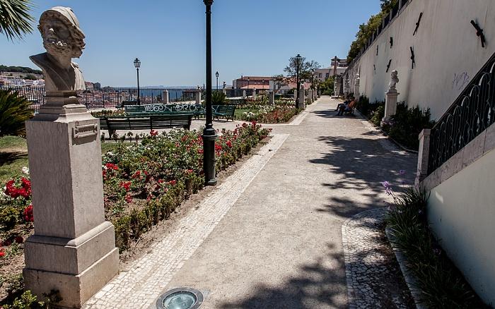 Bairro Alto: Jardim de São Pedro de Alcântara Lissabon