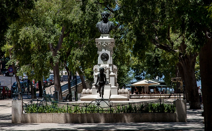 Lissabon Bairro Alto: Jardim de São Pedro de Alcântara