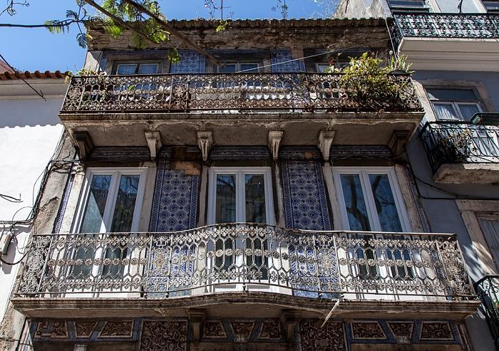 Bairro Alto: Rua Dom Pedro V Lissabon