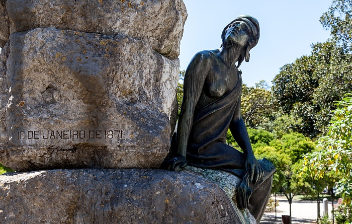 Lissabon Bairro Alto: Praça do Príncipe Real - Jardim do Príncipe Real