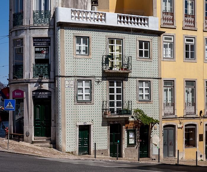Bairro Alto: Praça do Príncipe Real / Rua do Século Lissabon