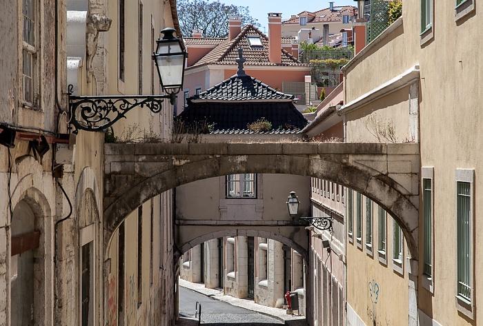Bairro Alto: Rua Academia das Ciências Lissabon