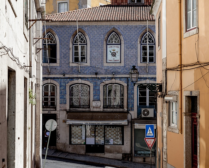 Bairro Alto: Rua do Século / Calçada do Combro Lissabon