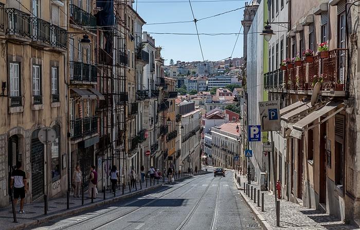 Bairro Alto: Calçada do Combro Lissabon