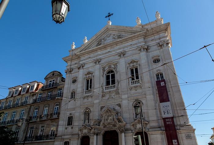 Bairro Alto: Praça Luís de Camões - Igreja de Nossa Senhora da Encarnação Lissabon