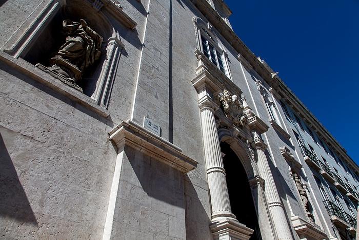 Lissabon Bairro Alto: Praça Luís de Camões - Igreja Nossa Senhora do Loreto (Loretokirche / Igreja dos Italianos) Praça Luis de Camoes