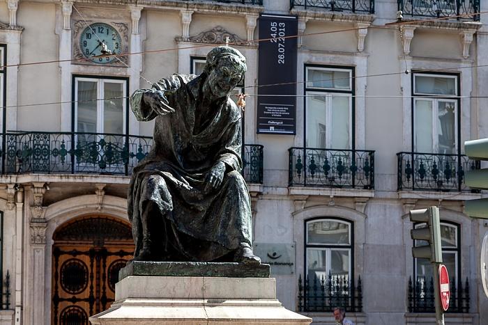 Bairro Alto: Largo do Chiado - António Ribeiro-Denkmal Lissabon