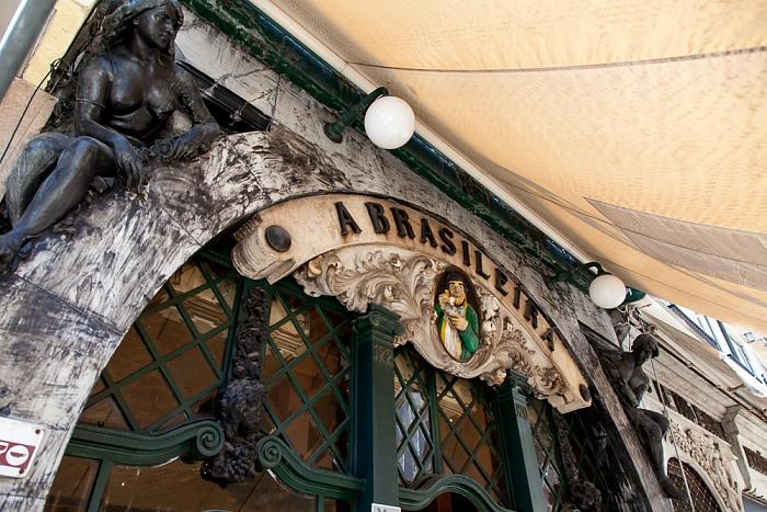 Bairro Alto: Rua Garrett - Café A Brasileira Lissabon