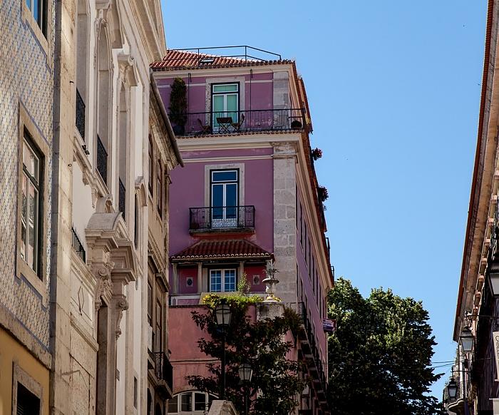 Lissabon Bairro Alto: Rua Garrett