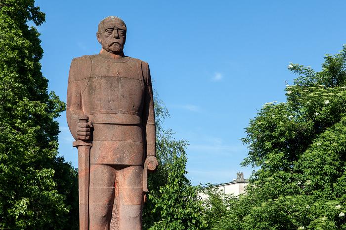 München Ludwigsvorstadt-Isarvorstadt: Bismarck-Denkmal (an der Boschbrücke)