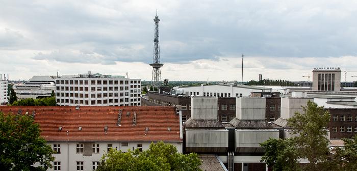 Westend: Blick aus dem Concorde Hotel am Studio - Funkturm Berlin