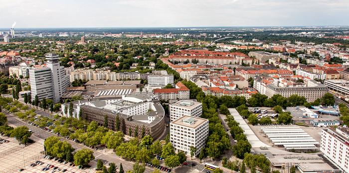 Blick vom Funkturm: Westend (Charlottenburg-Wilmersdorf) Berlin