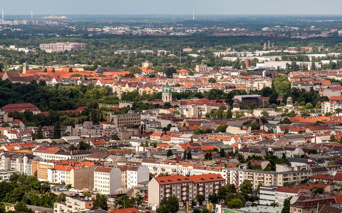 Blick vom Funkturm: Charlottenburg Berlin 2013