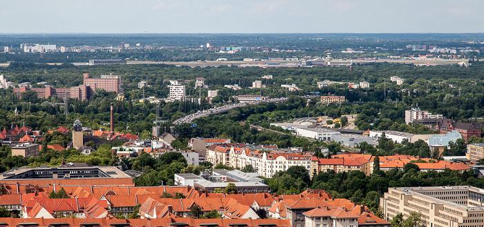 Blick vom Funkturm: Charlottenburg-Wilmersdorf Berlin