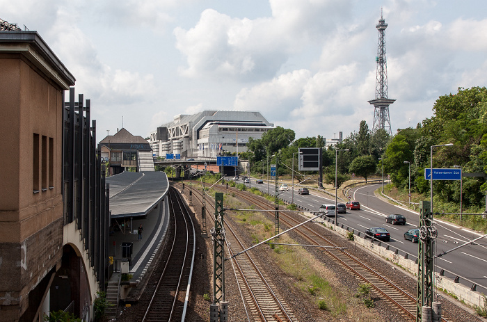 Westend: S-Bahnhof Messe Nord/ICC (Witzleben), Internationales Congress Centrum (ICC), Funkturm Berlin