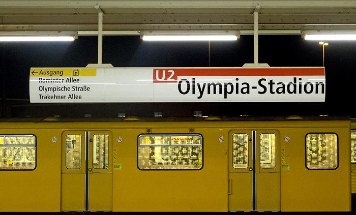 U-Bahnhof Olympia-Stadion Berlin