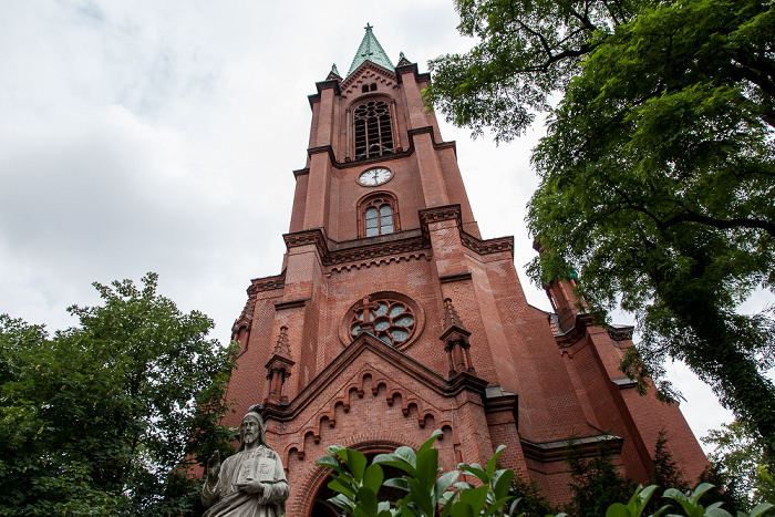 Prenzlauer Berg: Gethsemanekirche Berlin