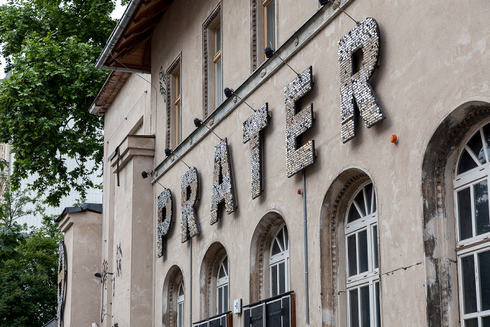 Berlin Prenzlauer Berg: Kastanienallee - Prater