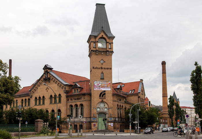 Berlin Prenzlauer Berg: Schönhauser Allee / Sredzkistraße - Kulturbrauerei