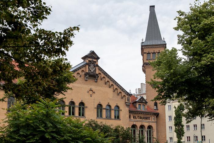 Berlin Prenzlauer Berg: Schönhauser Allee - Kulturbrauerei