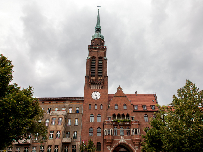 Berlin Prenzlauer Berg: Schönhauser Allee - Segenskirche