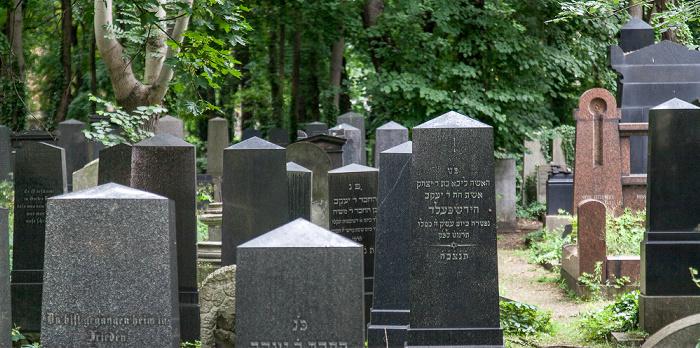 Prenzlauer Berg: Jüdischer Friedhof Schönhauser Allee Berlin
