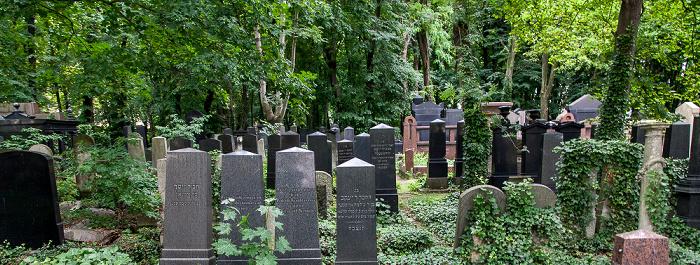 Berlin Prenzlauer Berg: Jüdischer Friedhof Schönhauser Allee