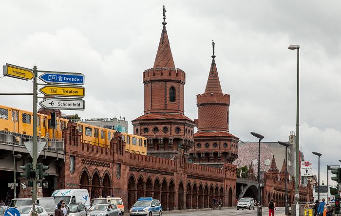 Friedrichshain: Oberbaumbrücke Berlin